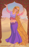 Indian Rapunzel by M-Mannering