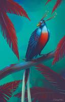 Paradise Bird by PlasmaGoo