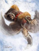 Mountain Monk Amadafey by PlasmaGoo