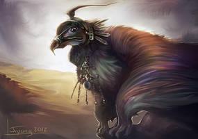 Kazakh Hawk by PlasmaGoo