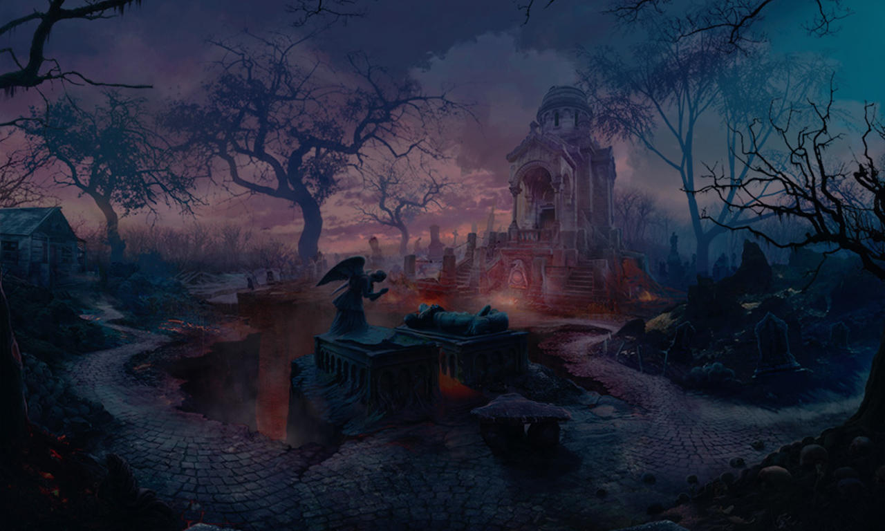 Cemetery 1 by KoTnoneKoT
