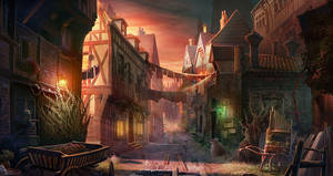 old town by KoTnoneKoT