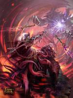 dark elf spearman #2 by KoTnoneKoT