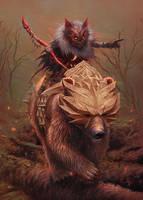 Wermling Beast Tyrant by KoTnoneKoT