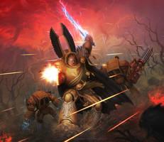 Deathwing Terminators by KoTnoneKoT