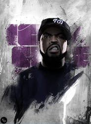 ICE CUBE Illustration by touchdesign