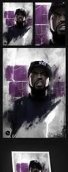 Ice Cube / Robert De Niro Illustration by touchdesign