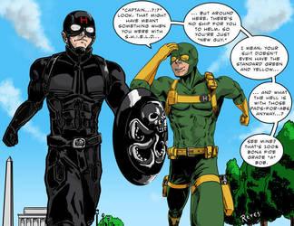 Captain Hydra meets Bob, Agent of Hydra by fukujinzuke