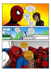 MCU Spider-Man meets Deadpool by fukujinzuke