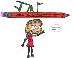 Hi pencil by InvdrZeec