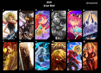 2018 Art Summary by Rica-Sensei