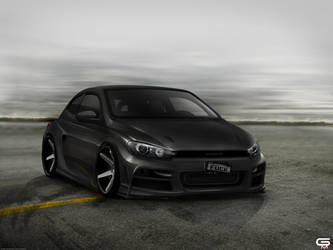 VW Scirocco by SaMuVT