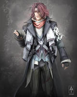 Ardyn - final fantasy XV by Aetiiart