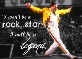 Freddie Mercury by revolutionbanana1995