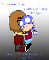 Be strong Gaijin by Soraply11