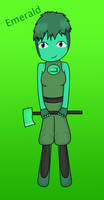 SU Gemsona: Emerald by Soraply11