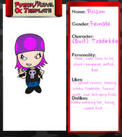 Fumon Character: Poison by Soraply11