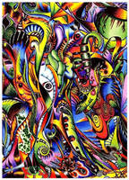Rainbow Jungle by floofty87