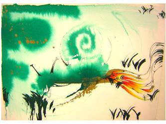 L' escargot Vert by floofty87