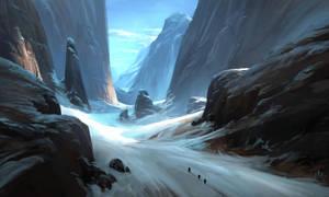 Ice valley by PierreBertin