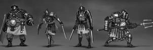 Gladiators by PierreBertin