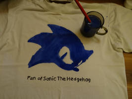 Sonic T-Shirt made by me ... by JakeCherryWizardhog