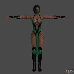MK9 Jade Retexture by DragonLord720