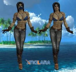 Kitana Casual by DragonLord720