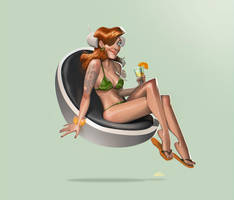 Orange cocktail by joslin