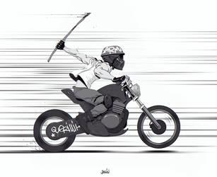 Guerilla Biker by joslin