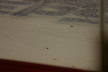 blood on the ice by spidermike8787