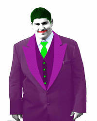 me as 'The Joker' by spidermike8787