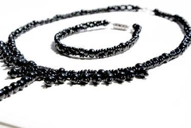 Black with bracelets by Asparasmascot