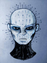 Pinhead from Hellraiser by davidbigler