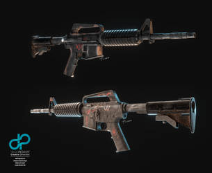 M4A1 - Decay by CrazyPXT