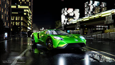 Ford GT 2017 - Humster3D Competition by CrazyPXT