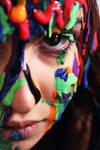 Megan in Paint by saaarahb