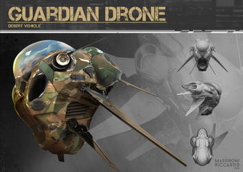Guardian Drone_ tech by capottolo