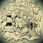 The Halloween Gang by Kometjakten