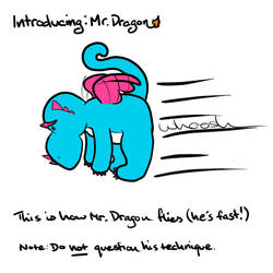 Introducing: Mr. Dragon - How dragons fly by christohpera
