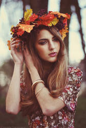 Late autumn. by Lukreszja