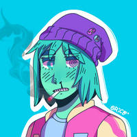 Drew this in my style by Oricle-Art