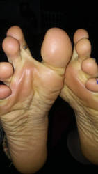 Shiny soft soles by staticwayne666