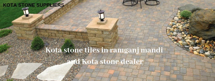 Kota stone tiles in ramganj mandi by kotastonesupplies
