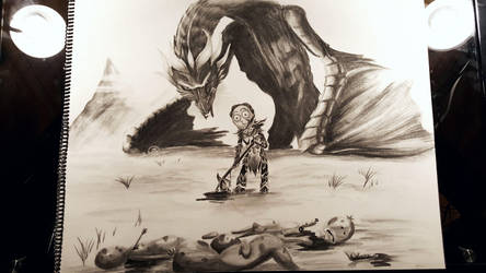 Dovah Mort by KiraMoses
