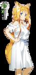 Sword Art Online:Alice Cute Dress Coloring Vector by OtakuRenders-Service