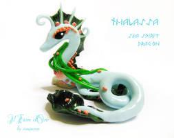 Thalassa, Sea Spirit Dragon by rosepeonie