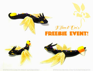 October 2018's freebie event - Goldie by rosepeonie
