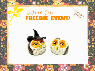 October 2018's freebie event - Smaller gifts owls by rosepeonie