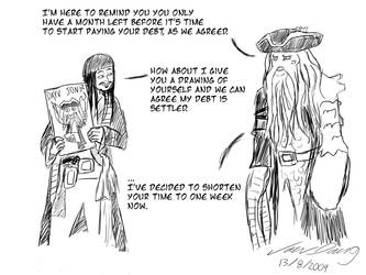 Jack Sparrow, that won't work by laughinguy